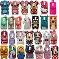 3D Cartoon Soft Silicone Phone Case Back Cover Skin For LG K7 / Q7 / K10 / Q10 / K8 Fundas Coque PROTECTION CASOS DE CAPA