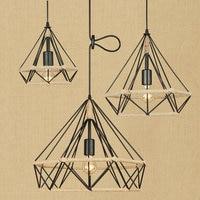 Northern European Edison Village loft Personality Restaurant theme Decoration led Pendant Lighting Deco Lamps Rope Lamp Legno