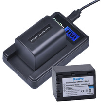 2 pc 2500 mAh batterie NP FV70 NP FV70 NPFV70 LCD USB Charger for Sony NP