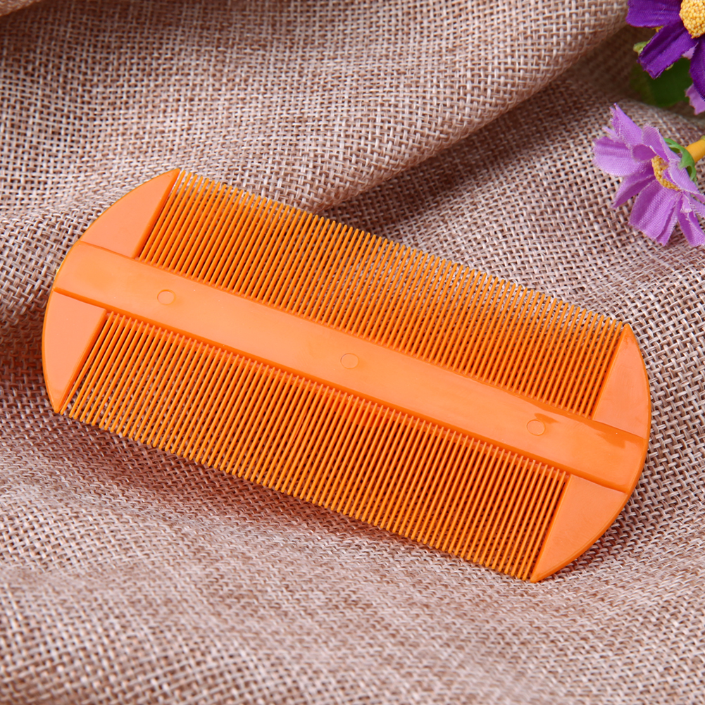 Pet Dog Cat Flea Comb Anti-static Flea Lice Comb Pet Grooming Fine Tooth Hair Comb Puppy Dog Relieve Fatigue Head Massage Brush