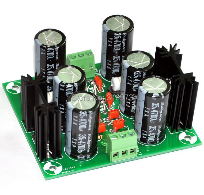Low Noise +/-15V Regulator Module, for Audio Preamp.
