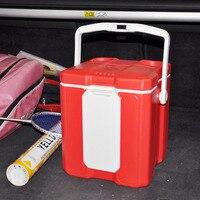 Mini Carro Frigorífico Geladeira Portátil casa Carro Viagens Cooler Box Carro Geladeira Dupla Frigobar Com Função Bluetooth Speaker