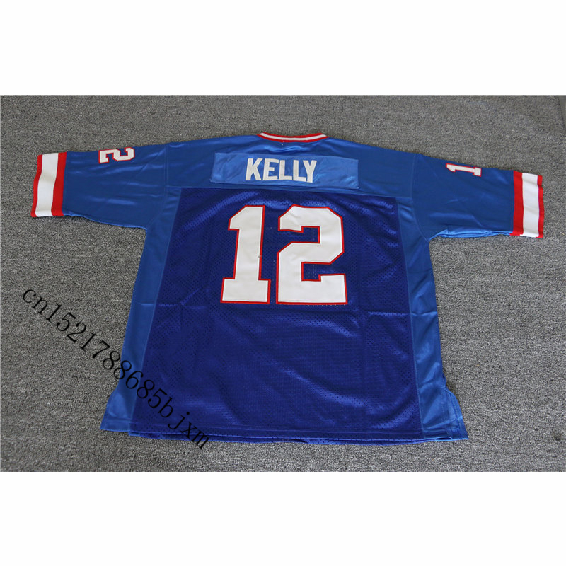 new arrival b006a 0ff11 Mens 1994 Retro Jim Kelly Stitched Name&Number Throwback Football Jersey  Size M 3XL-in America Football Jerseys from Sports & Entertainment on ...