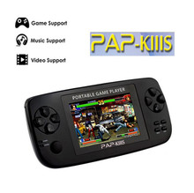 3.5 inch Hot Sale game console built in 600 game for MP5 music/movie PAP-KIIIS