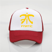 Fashion hat Fnatic LOL Champion Printing net cap baseball cap Men women  Summer Trend Cap New caef3526201c