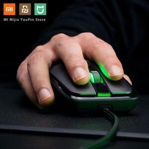 Image 2 - Oryginalna mysz bezprzewodowa Xiaomi USB 2.4GHz 7200DPI RGB podświetlenie mysz optyczna do komputera