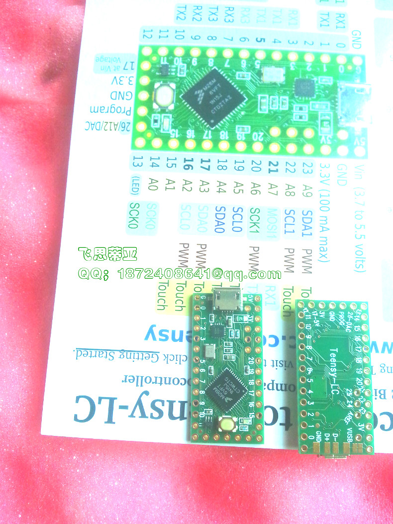 Development board module Teensy LC DEV 13305-in Electronics Stocks from Electronic Components & Supplies