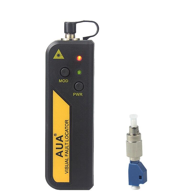 Freies verschiffen 30 mw Rote Laser Licht Lwl-kabeltester LC/SC/FC/ST Stecker Kabel Laser Optical Fiber Tester 10-30 KM