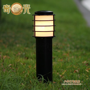 Aliexpresscom Buy Garden lights outdoor lamp lawn lamp black
