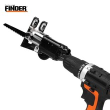 Reciprocating-Saw Adapter Electric-Drill-Set Woodworking-Cutting Attachment Power-Tool
