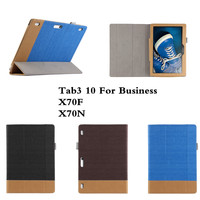 SD High Quality PU Leather Folio Flip Stand Case For Lenovo Tab3 10 For Business TB3