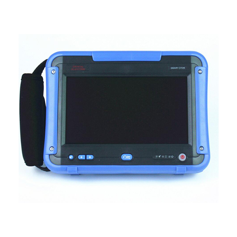Handheld Sarmt-7 SM OTDR 1310/1550nm, 28/26dB,Integrated 10MW VFL Touch Screen Optical Time Domain Reflectometers Supply