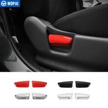 MOPAI ABS Car Interior Sedili Regolazione Maniglia Copertura Decorazione Adesivi per SUZUKI Jimny 2007 Up Accessori Car Styling