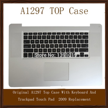 "Original A1297 Top Case With US Keyboard And Trackpad Touch Pad For Macbook Pro 17"" 2009 Replacement"