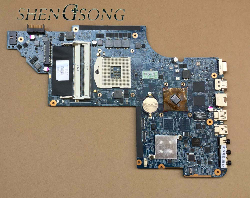 Free Shipping FOR HP DV6-6000 DV6 Laptop motherboard 641486-001 HD6470M 1G 100% Tested guaranteed top quality for hp laptop mainboard 615686 001 dv6 dv6 3000 laptop motherboard 100% tested 60 days warranty