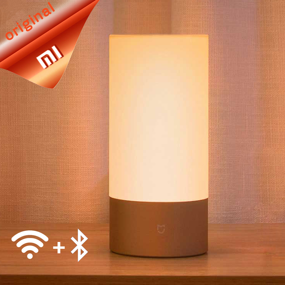 Xiaomi Mijia Mi Yeelight Bedside Lamp Table Desk Smart Indoor Light 16 Million RGB Touch Control