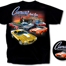 9b2bca31 Funny men t shirt novelty tshirt women 1970-1981 Chevy Camaro 2nd Gen  Garage Cotton