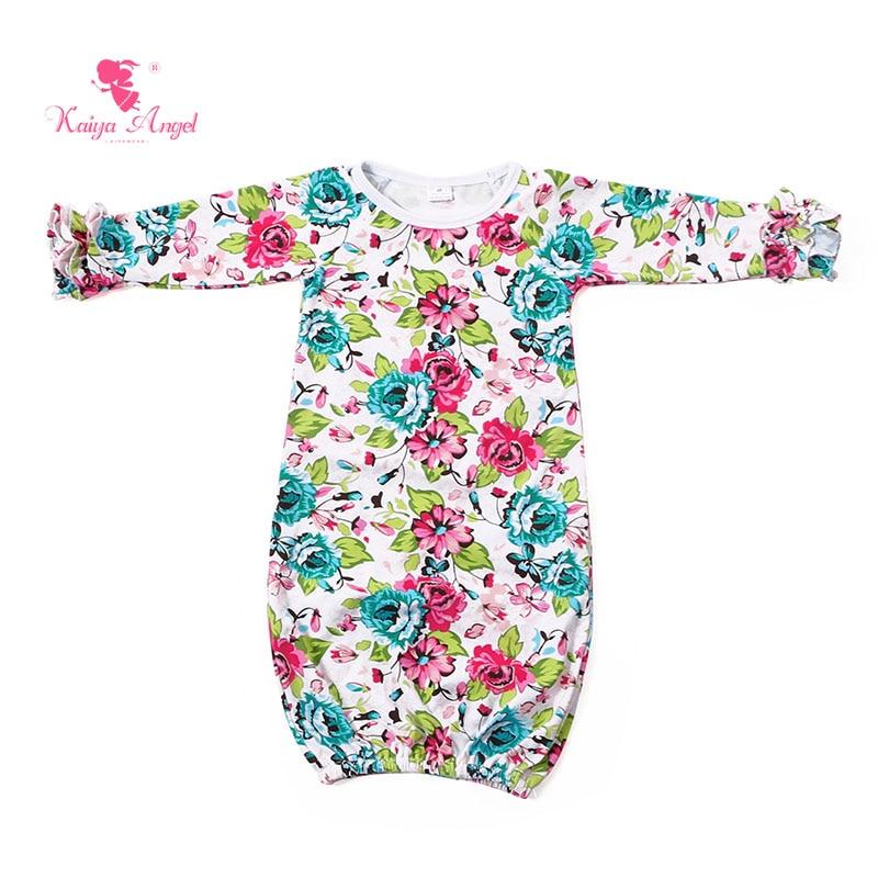 Kaiya Angel Baby Sleep Bag Aqua Pink Floral Newborn Schlafsack 2017 Sleeping Bag Bag Newborn Sack