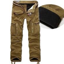 Здесь можно купить   winter Warm Fashion Brand Men casual More pockets Man Joggers camouflage camo militar bottoms army cargo Pants Big Size  Men