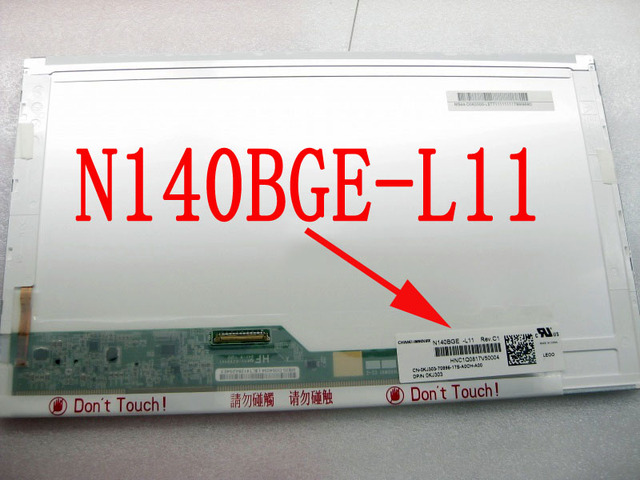"N140BGE-L11 Matrix 1366*768 HD For Dell Latitude E5420 14"" Matte LED Display LCD Screen N140BGE L11"