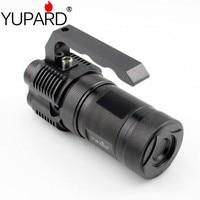 yupard high bright portable light lantern 4*XM L T6 LED flashlight spotlight 18650 rechargeable battery torch searchlight