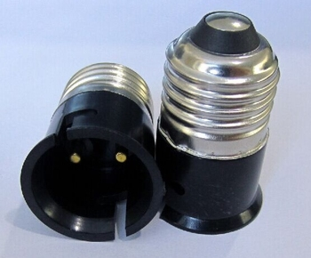 100pcs E27 To B22 Lamp Holder Converter