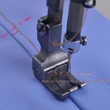 1 шт. железная Левая и широкая прижимная лапка для промышленной швейной машины, много размеров на выбор