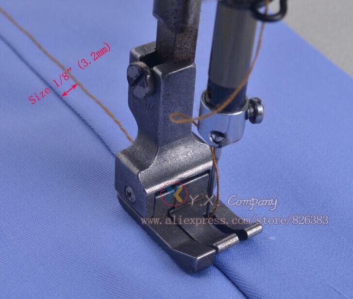1 шт. железная Левая и широкая прижимная лапка для промышленных швейных машин, много размеров на выбор.