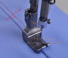 Peça ferro esquerdo e amplo calçador para máquina de costura industrial, muitos tamanhos para escolher.