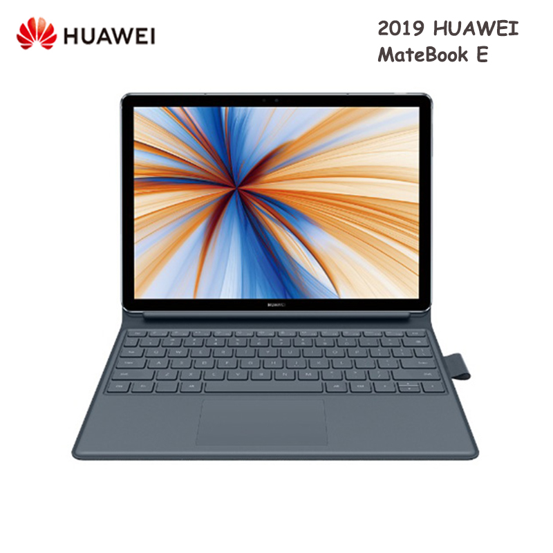2019 HUAWEI MateBook E Laptop 12.0 inch Windows 10 Qualcomm SDM850 Octa Core 1.7GHz CPU 8GB RAM 512GB SSD Fingerprint Notebook
