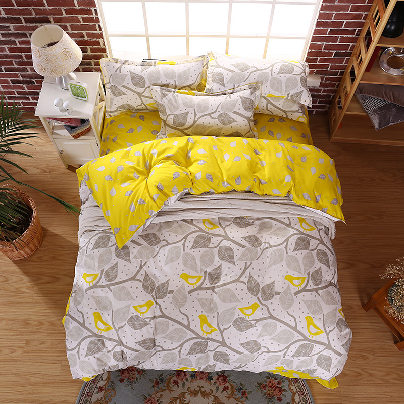 Ab Double Sided Bedding Set Duvet Cover Set Bed Sheet