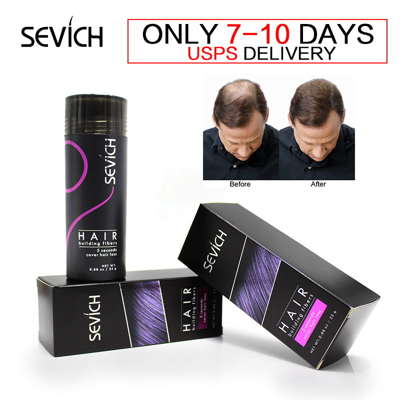 10colors Spray Thicker Concealer Thin Hair Loss Treatment Care Male/Female Keratin Hair Fibers Powder Brand Toppik 25g Natural