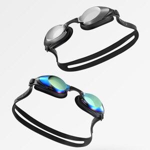 Image 2 - Xiaomi Yunmai Vestito di Nuoto HD Anti fog Occhiali Clip del Naso Tappi Per Le Orecchie Anti appannamento Anti Acqua auricolare
