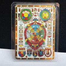 Фэн-шуй Тибет Мистик амулеты карта для защиты M6038