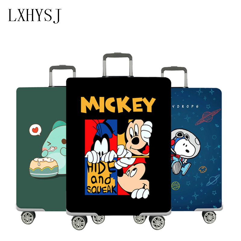 Mickey Elastic Luggage Cover Luggage Protective Covers Suitable For 18-32 Inch Suitcase Case Dust Cover Travel Accessories