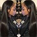 7А Класс Перуанский Девы Волос Прямой 4 шт. Лот Индивидуальные 8-28 Дюйм(ов) Необработанные Девственница Перуанский Прямые Человеческие Волосы ткет