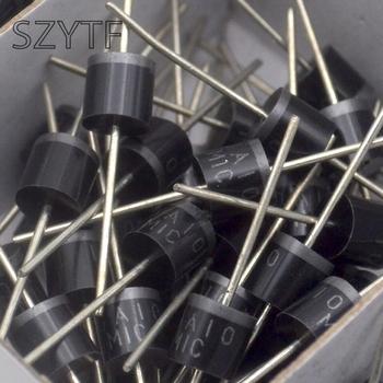 200 sztuk worek 10A10 10A 1000V dioda prostownicza tanie i dobre opinie SZYTF Dioda prostownika CN (pochodzenie) Nowy Przez otwór