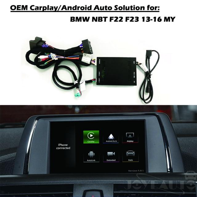 Aftermarket Oem Apple Carplay Android Auto F22 F23 Solution Upgrade