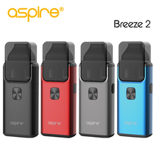 E-cigarrillos Kit Aspire Breeze 2 AIO Kit Built-in 1000mAh Batería Electronic Cigarette Vape Kit E Cigarrillo Vaporizador En stock