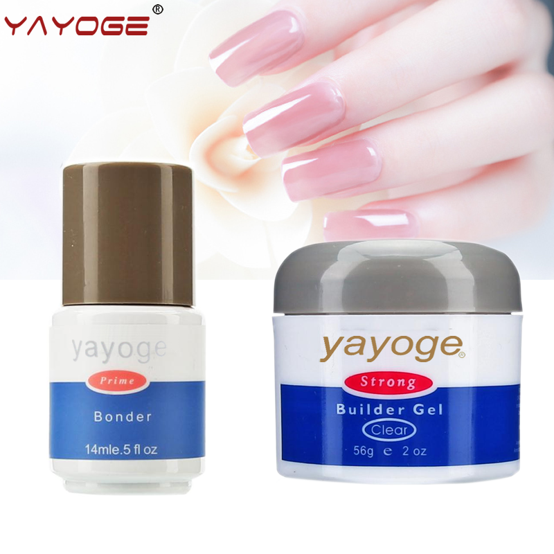 Nail Extensions Gel: YAYOGE Nail Builder Gel SET KIT For Nail Extensions
