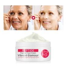 GLAMOUR vibrante crema de colágeno puro péptido arrugas Crema para arrugas eliminar reafirmante sin edad ajuste humectante cuidado de la piel TSLM1