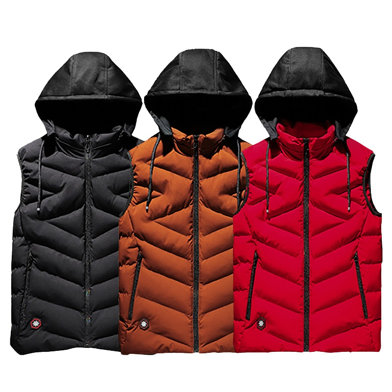 Image 1 - Cotton Vest Men Plus Size Big 6XL 7XL 8XL Large Casual Winter 