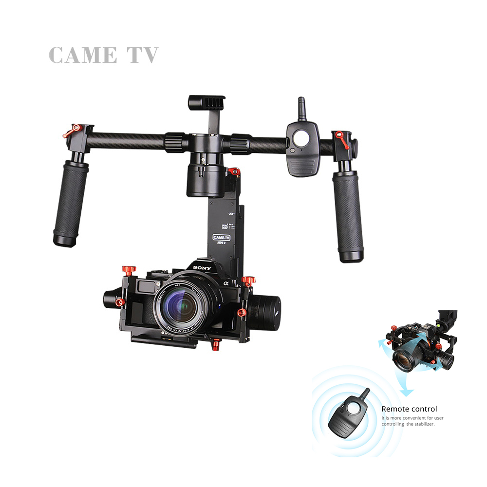 CAME-TV CAME-Mini 3 Cane Mini 3 3-Axis Gimbal Portable Stabilize for Camera 32-bit Boards with Encoders with Wireless Remote в киеве модуль управления воротами came