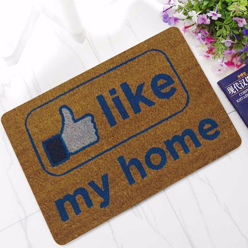 Inspirational Warm Home Hold Door Entrance Welcome Mats Rubber Funny Doormats Hallway Doorway Bathroom Rugs Floor Mats Carpet in Mat from Home Garden
