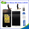 For Meizu M3 Note L681H LCD Display+Digitizer Touch Screen Replacement Accessories White Black for Meizu Meilan Note 3 +Tool