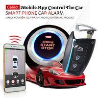 car gps online tracking car alarm security system smart key keyless entry with anti theft mobile app central lock or unlock