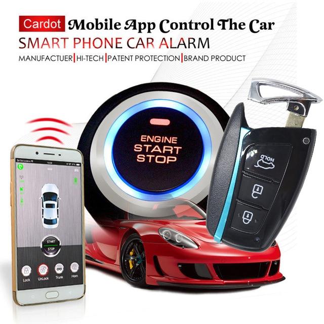 Car Gps Online Tracking Car Alarm Security System Smart