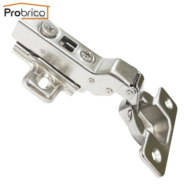 Probrico Soft Close Kitchen Cabinet Hinges 1Pair CHR083HB Concealed Cupboard  Door Hinge Furniture Hardware Accessories Fittings