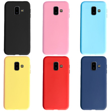 for Cover Samsung Galaxy J6 2018 case Silicone Back Cover sF