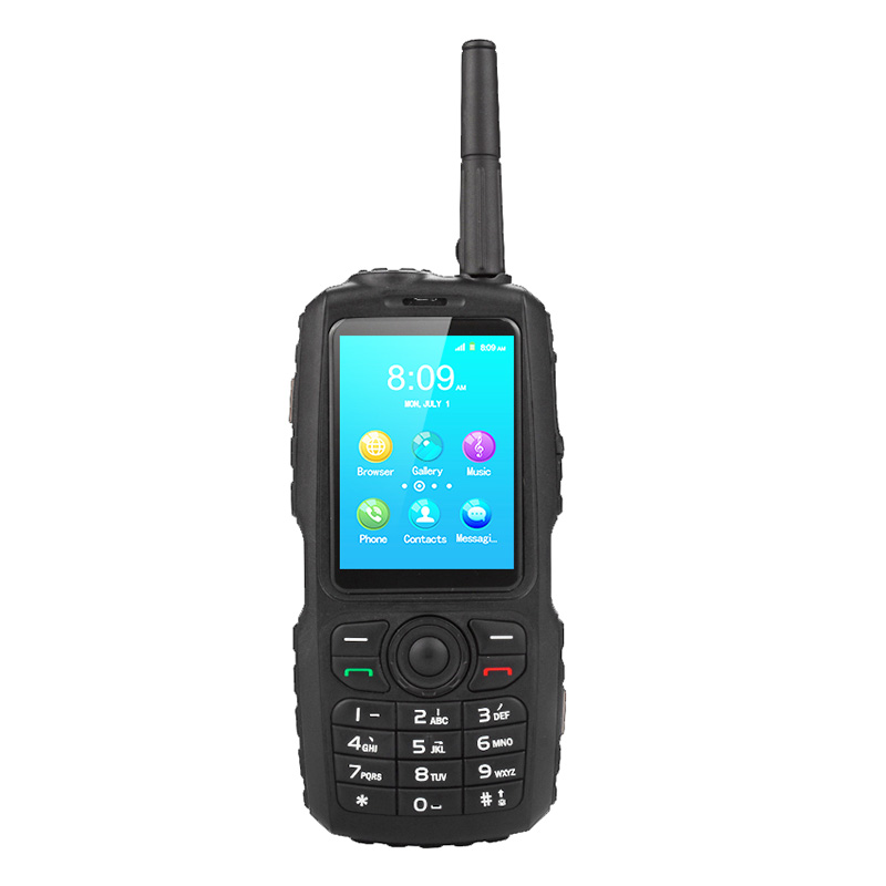 UNIWA Alps A17 Waterproof Mobile Phone Zello Walkie Talkie Android Smartphone 2G/3G WCDMA Dual SIM Standby CellPhone IP67(China)